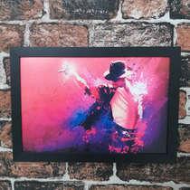 Quadro Michael Jackson - Linha CDB Designer 33x22 cm