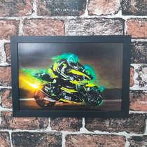 Quadro Monster Moto Racing - Linha CDB Designer 22x33 cm