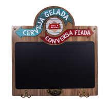 Quadro Negro Lousa Decorativo - Stella Artois