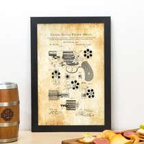 Quadro Patent -  33x22 cm