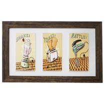Quadro Decorativo - Shake, Toast and Rattle
