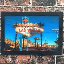 Quadro Vegas  - Linha CDB Designer 22x33 cm