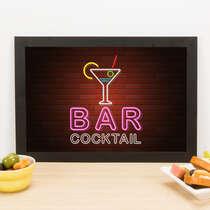 Quadro - Bar Cocktail - 23x33 cm