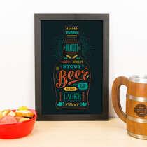 Quadro - Beers - 33x23 cm