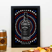 Quadro - Colorful Jack Daniel´s - 33x22 cm