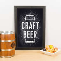 Quadro - Craft Beer - 33x23 cm