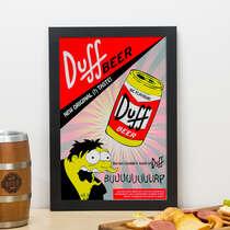 Quadro - Duff Beer - 33x22 cm