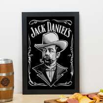 Quadro - Jack Daniel´s - 33x22 cm