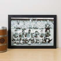 Quadro Seleção Brasileira Copa 1958  - 22x33 cm