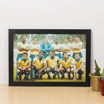 Quadro Seleção Brasileira Copa 1962  - 22x33 cm