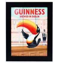 Quadro com Azulejos - Guinness