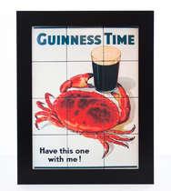 Quadro com Azulejos - Guinness Time
