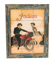 Quadro com Azulejos - Indian