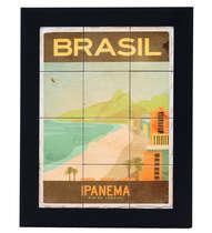 Quadro com Azulejos - Ipanema