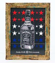Quadro com Azulejos - Jack Daniel´s Stars