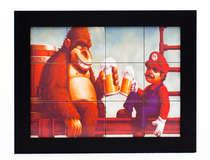 Quadro com Azulejos - Mario