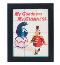 Quadro com Azulejos - My Goodness my Guinness