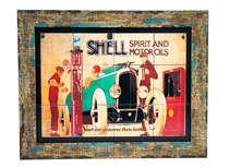 Quadro com Azulejos - Shell
