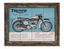 Quadro com Azulejos - Triumph