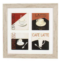 Quadro Decorativo de MDF Vintage - We love coffee
