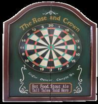 Jogo de Dardo - Rose & Crown- 60x44cm