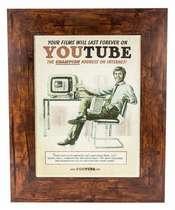Quadro em madeira - Youtube