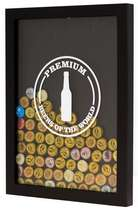 Quadro porta-tampinhas - Beers of The World