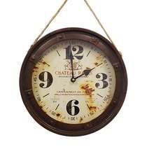 Relógio Metal Envelhecido - Chateau Rayas 27 cm