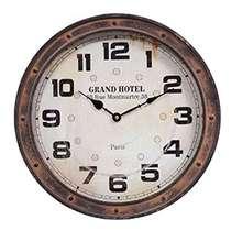 Relógio Metal Terracota Montmartre - 40 cm
