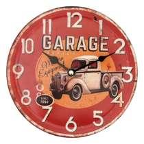 Relógio Metal - Garage - 20 cm