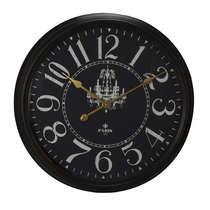 Relógio Parede Metal - Paris 1879 60 cm