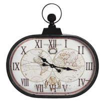 Relógio Parede Metal Retrô - The World 64 cm