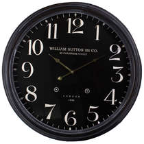 Relógio Parede Metal - London 1894 60 cm