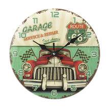 Relógio Parede Vidro - Garage Service & Repair