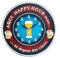 Relógio - Happy Hour- 38cm