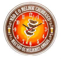 Relógio - Melhores Amigos - 30 cm