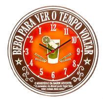 Relógio - Tempo Voltar - 30 cm de diâmetro