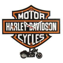 Relógio com Pêndulo Harley-Davidson