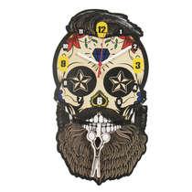 Relógio com Pendulo - Barbearia + 2 pendulos