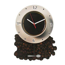 Relógio com Pêndulo - Coffee + 2 pêndulos