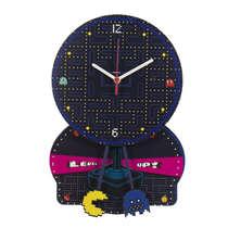 Relógio de parede MDF - Pac Man - 37 x 25,5 cm