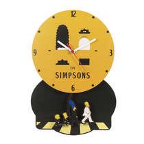 Relógio de parede MDF - The Simpons - 37 x 25,5 cm