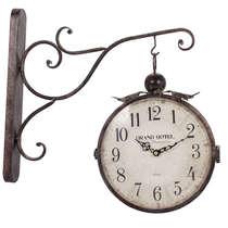 Relógio de Parede Estação - Dupla Face - Grand Hotel