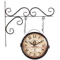 Relógio de Parede Estação - Dupla Face - Parfumeur Paris