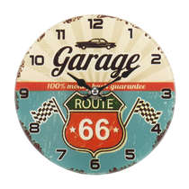 Relógio para mesa de vidro - Garage - 17 cm