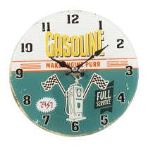 Relógio para mesa de vidro - Gasoline - 17 cm