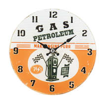 Relógio para mesa de vidro - Petroleum
