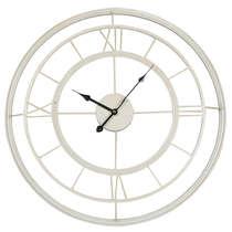 Relógio de parede Vazado Metal - Europeu 61 cm