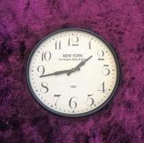 Relógio de parede - New York - 52 cm de diâmetro