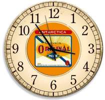 Relógio em MDF - Antarctica Original - 28 cm de diâmetro